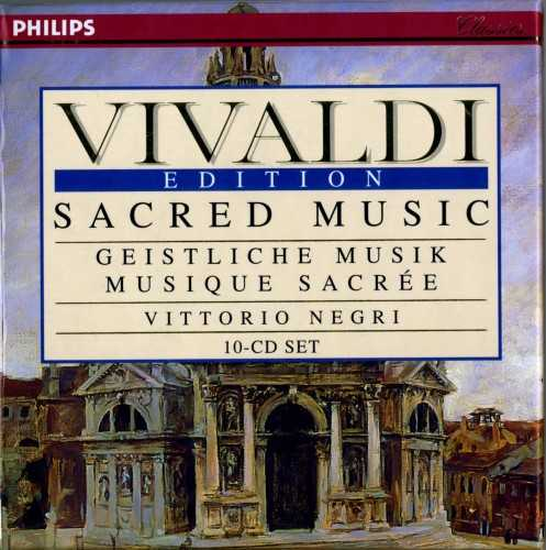 Vivaldi Edition, Vol.3 (10 CD box set, FLAC)