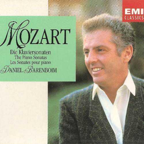 Barenboim: Mozart - Piano Sonatas (5 CD box set, APE)