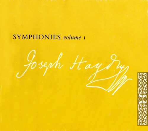 Hogwood: Haydn - Symphonies vol.1-10 (30 CD box set, APE)