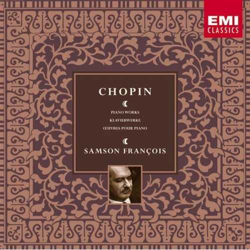Samson François: Chopin - Piano Works (10 CD box set, FLAC)