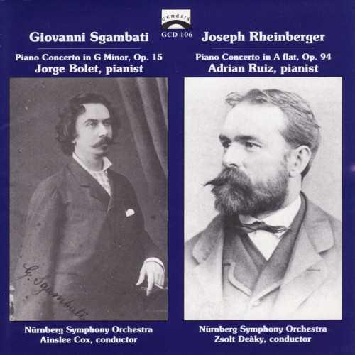 Sgambati, Rheinberger - Piano Concertos (FLAC)