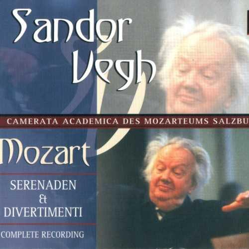 Vegh: Mozart - Serenaden and Divertimenti. Complete Recording (10 CD box set, FLAC)