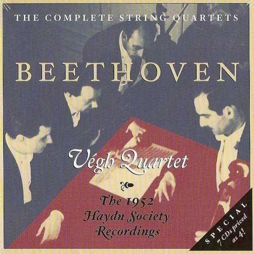 Végh Quartet: Beethoven - The Complete String Quartets (7 CD box set, APE)