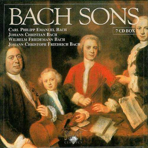 Bach Sons (7 CD box set, FLAC)