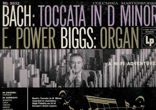 Biggs: Bach - Toccata in D minor (APE)