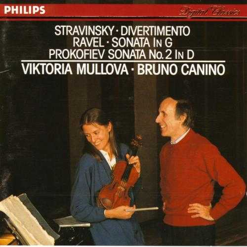 Mullova: Stravinsky - Divertimento, Ravel - Violin Sonata in G, Profokiev - Violin Sonata no.2 in D (APE)