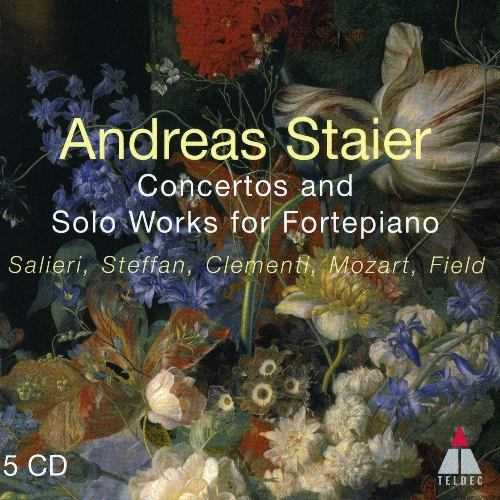 Staier: Concertos and Solo Works for Fortepiano (5 CD box set, FLAC)