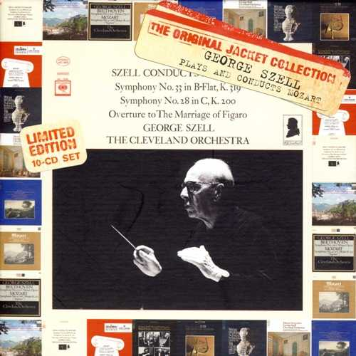 George Szell Plays and Conducts Mozart (10 CD box set, FLAC)