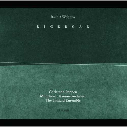 The Hilliard Ensemble: Bach, Webern - Ricercar (APE)