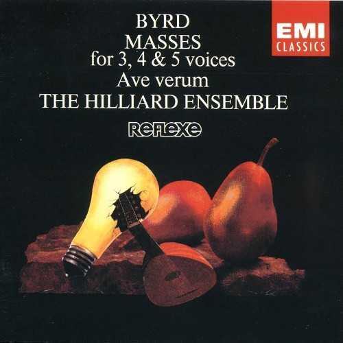 The Hilliard Ensemble: Byrd - Masses for 3, 4, 5 Voices, Ave verum (APE)