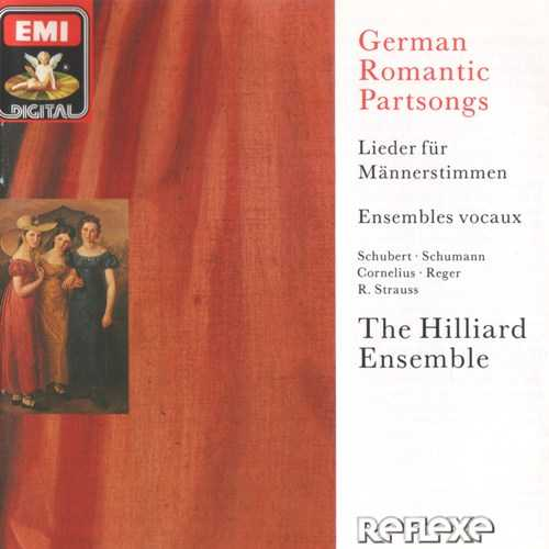 The Hilliard Ensemble: German Romantic Partsongs (APE)