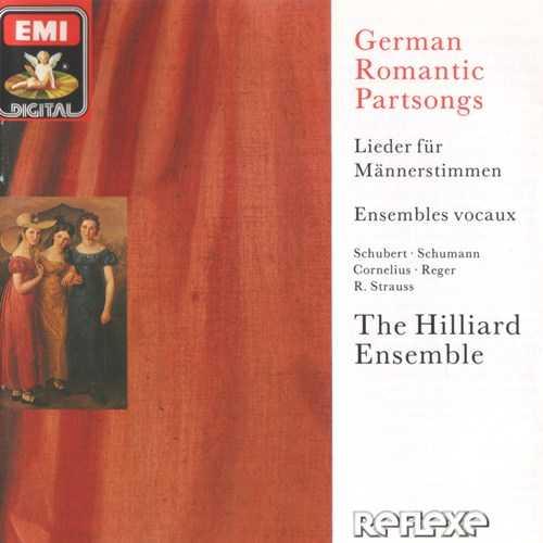 The Hilliard Ensemble: German Romantic Partsongs (APE)