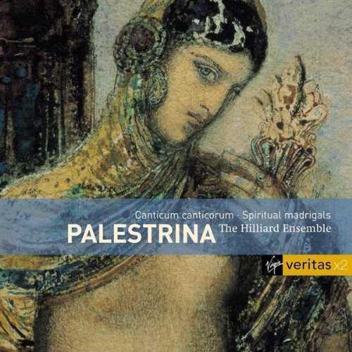 The Hilliard Ensemble: Palestrina - Canticum canticorum, Spiritual Madrigals (2 CD, APE)