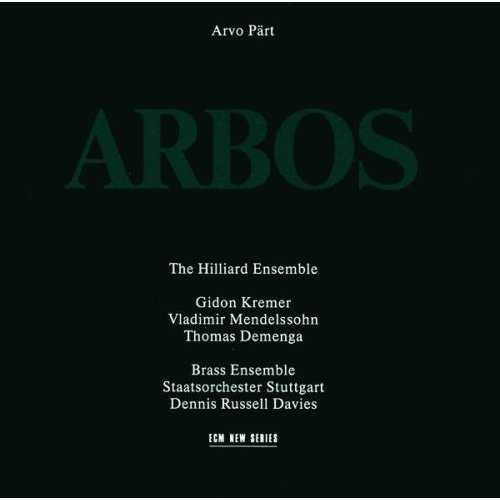 The Hilliard Ensemble: Part - Arbos (APE)