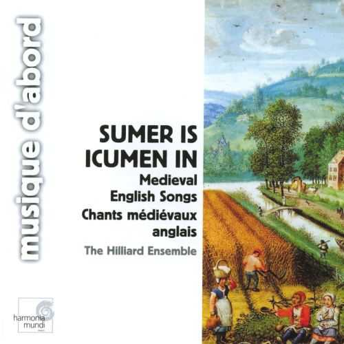 The Hilliard Ensemble: Sumer is icumen in - Medieval English Songs (APE)