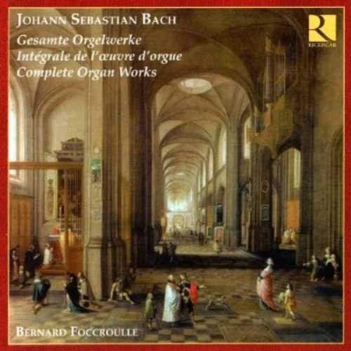 Foccroulle: Bach - Complete Organ Works (16 CD box set, FLAC)