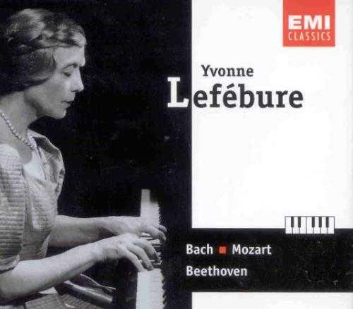 Yvonne Lefebure: Bach, Mozart, Beethoven (2 CD, APE)