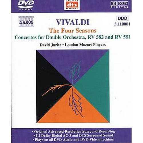 Juritz: Vivaldi - Four Seasons, Concertos for Double Orchestra (DVD-A)