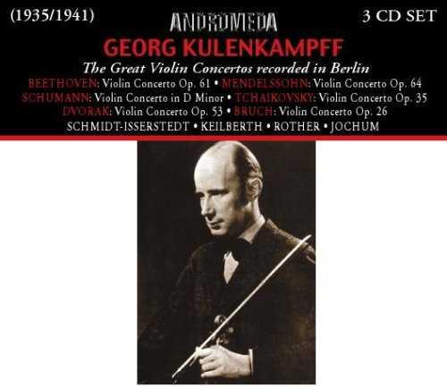 Georg Kulenkampff: The Great Violin Concertos Recorded in Berlin (3 CD, APE)