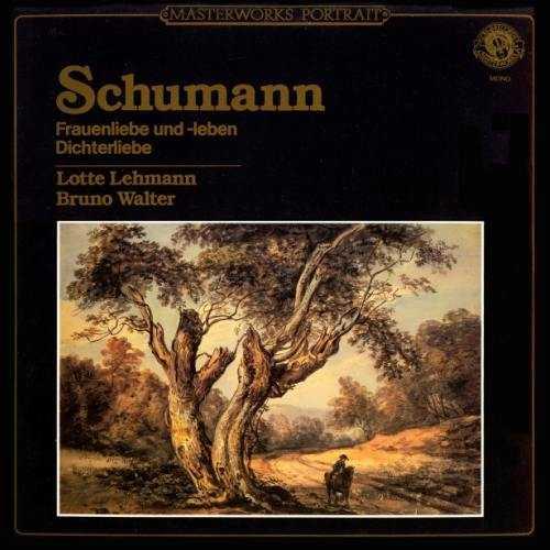 Lehmann, Walter: Schumann - Frauenliebe und -leben op.42, Dichterliebe op.48 (FLAC)