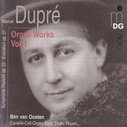van Oosten: Dupre - Organ Works Series
