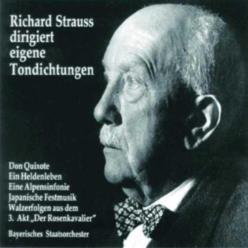 Richard Strauss dirigiert eigene Tondichtungen vol.1 (2 CD, FLAC)
