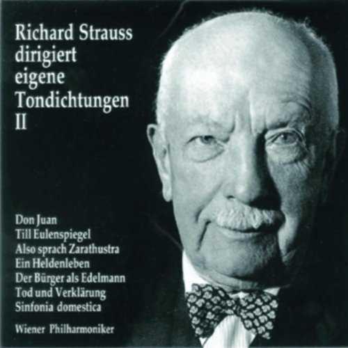 Richard Strauss dirigiert eigene Tondichtungen vol.2 (3 CD, FLAC)