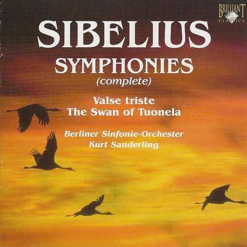 Sanderling: Sibelius - Symphonies (5 CD, APE)