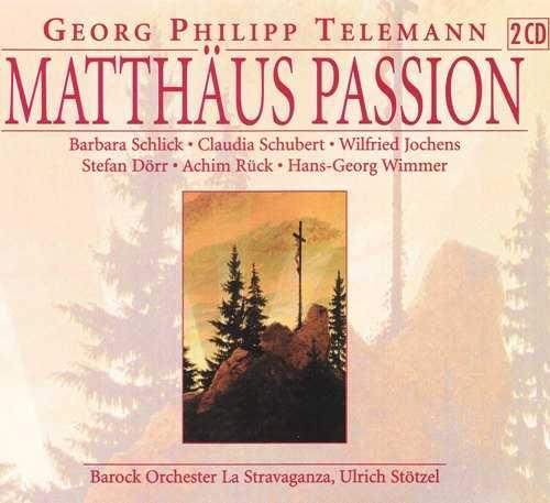 Stotzel: Telemann - Matthaus Passion (2 CD, APE)