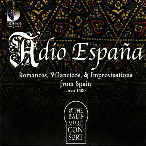 Adio España: Romances, Villancicos and Improvisations from Spain (FLAC)