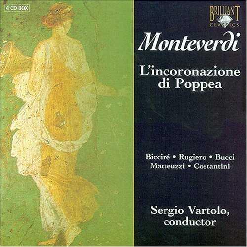 Vartolo: Monteverdi - L'incoronazione di Poppea (4 CD, FLAC)
