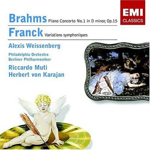 Weissenberg: Brahms - Piano Concerto no.1, Franck - Symphonic Variations (FLAC)