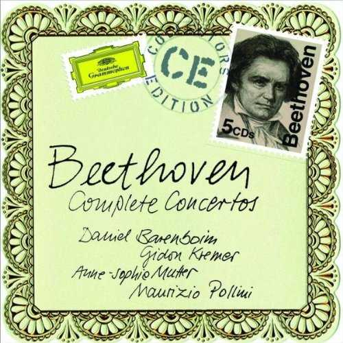 Beethoven - The Complete Concertos  (5 CDs  -  2011)