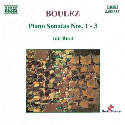 Biret: Boulez - Piano Sonatas no.1-3 (FLAC)