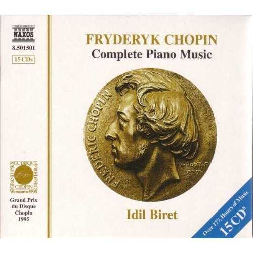 Biret: Chopin - Complete Piano Music Vol.01-15 (15 CD, APE)