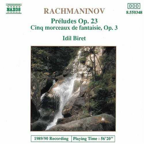 Biret: Rachmaninov - Préludes op.23, Cinq morceaux de fantasie op.3 (FLAC)