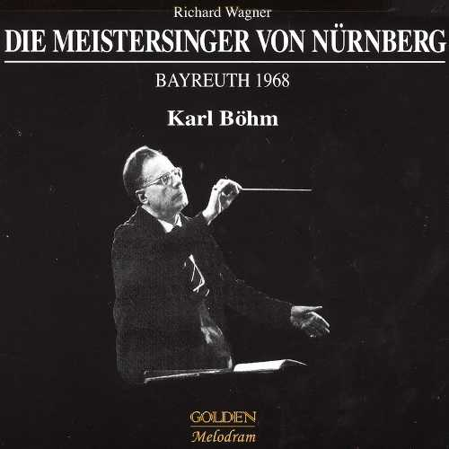 Bohm: Wagner - Die Meistersinger von Nurnberg. Bayreuth 1968 (4 CD, FLAC)