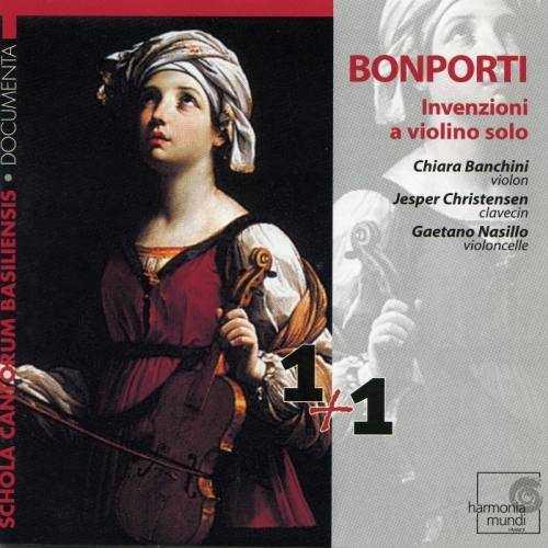 Bonporti - Invenzioni a Violino Solo (2 CD, FLAC)
