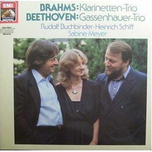 Buchbinder, Schiff, Meyer: Brahms, Beethoven - Clarinet Trios (FLAC)