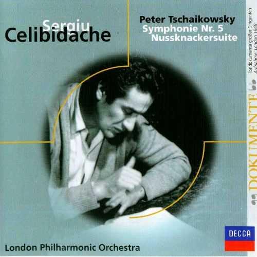 Celibidache: Tchaikovsky - Symphony no.5 in E op.64, Nutcracker Suite (APE)