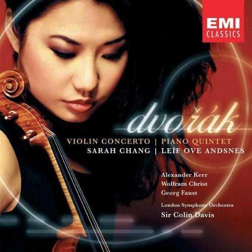 Davis, Chang: Dvorák - Violin Concerto, Piano Quintet (APE)