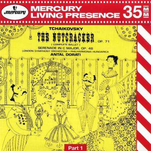 Dorati: Tchaikovsky - The Nutcracker, Serenade in C Major (2 CD, FLAC)