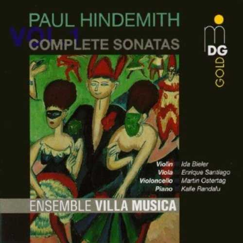 Ensemble Villa Musica: Hindemith - Complete Sonatas Vol.01-07 (FLAC)