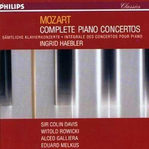 Haebler: Mozart - Complete Piano Concertos (10 CD box set, APE)