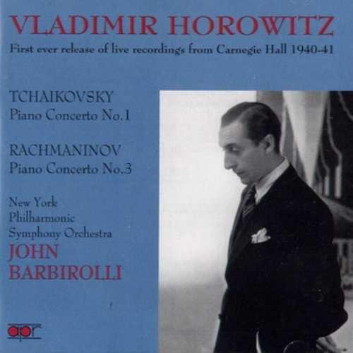Horowitz, Barbirolli: Tchaikovsky, Rachmaninov - Piano Concertos (APE)