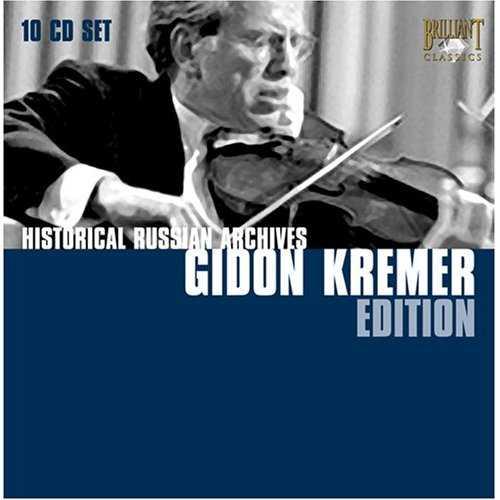 Historical Russian Archives: Gidon Kremer Edition (10 CD box set, FLAC)