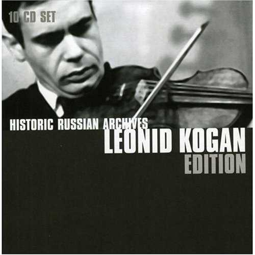 Historic Russian Archives: Leonid Kogan Edition (10 Cd box set, ALAC)