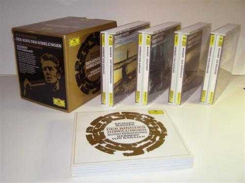 Karajan: Wagner - Der Ring Des Nibelungen (15 CD box set, FLAC)