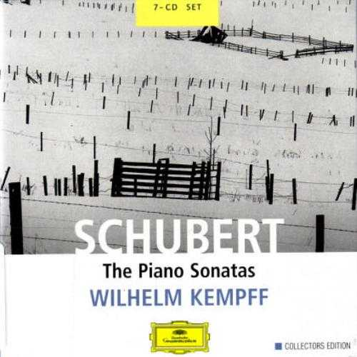 Kempff: Schubert - The Piano Sonatas (7 CD box set, APE)