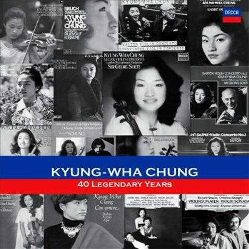 Kyung Wha Chung: 40 Legendary Years (19 CD box set, APE)